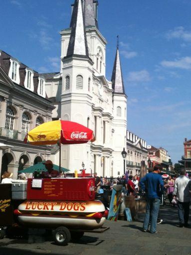 Hot Dog Vendor, New Orleans, Louisiana