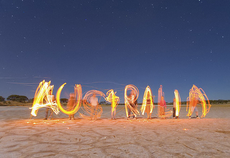 Australia lit up!