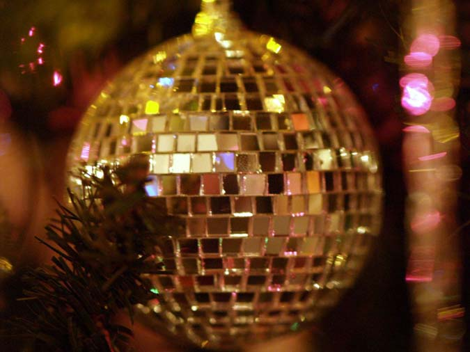 Christmas Mirror Ball