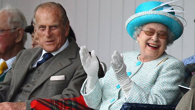 Queen Elizabeth II and Prince Philip, photo by Jeff J. Mitchell.