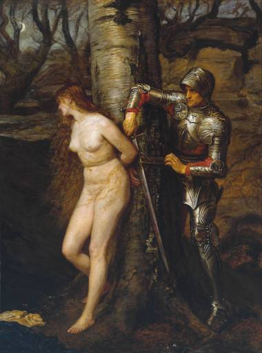 John Everett Millais, The Knight Errant (1870) Tate Collection