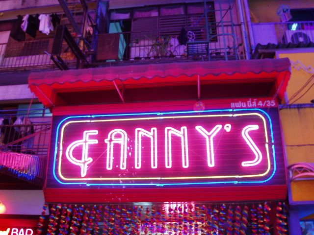 If you name your child Madame Fanny La Fan, s/he may one day aspire to owning a cabaret like this one.  That's kind of cool if you ask me.  It's the sort of name you grown into, I suppose, but the primary school years would be a challenge.