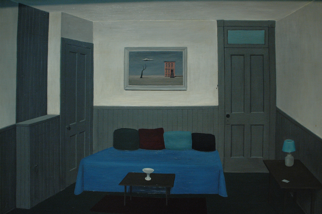Gertrude Abercrombie, The Past and the Present, c. 1945, The Art Institute of Chicago