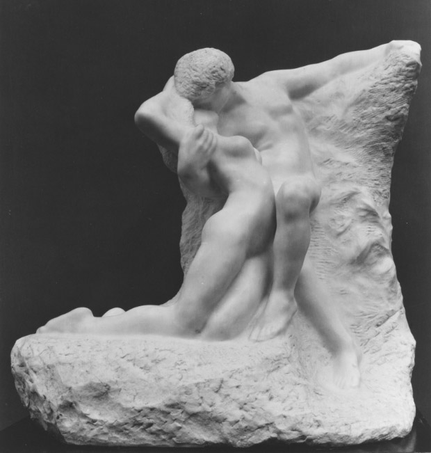 Auguste Rodin, Eternal Spring, c 1906-1907, The Metropolitian Museum of Art