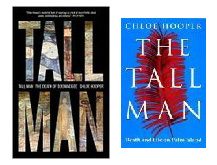 two editions of The Tall Man, with title alterations
