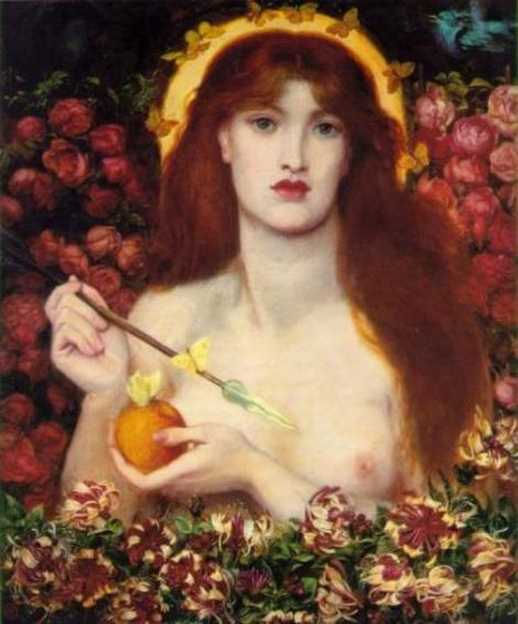 Venus Verticordia, Dante Gabriel Rossetti (1868), Russell-Cotes Art Gallery and Museum, Bournemouth