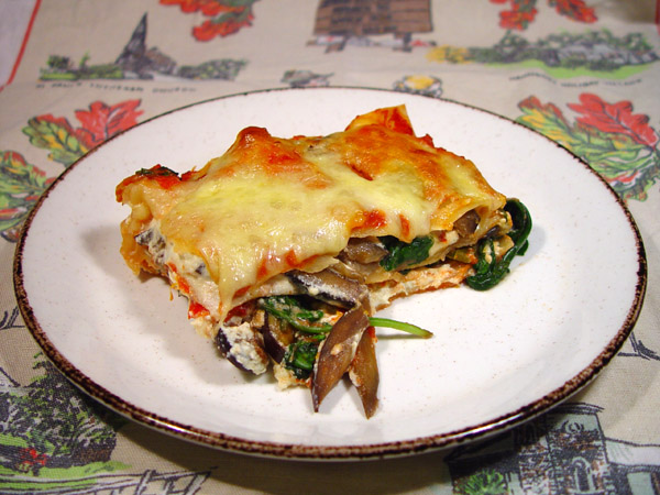 Four Cheese Vegetable Lasagne   Like Telling the Truth