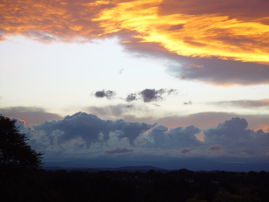 Daybreak with Dinosaurs (Victoria, Australia) June 2012