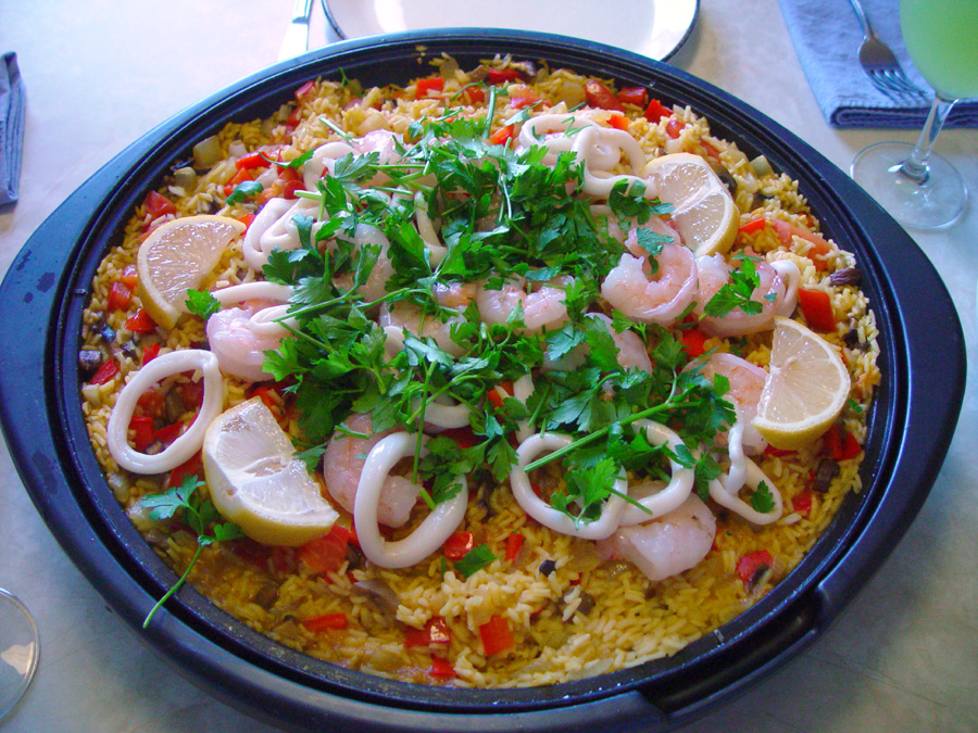 Spanish Rice with Seafood